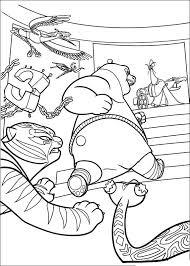 Kung Fu Panda Kleurplaten 19
