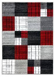 red plaid rug alternative views red plaid rug