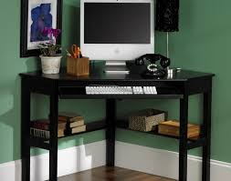 computer desk with wide keyboard tray corner home beautiful shelves for notable extra interesting multiple monitors
