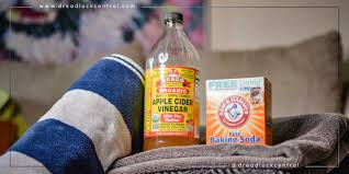 dread cleanse baking soda and acv rinse to remove residue buildup