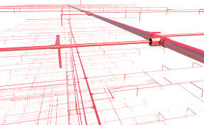 we also recommend the separate cut opening solution to easily create openings with fire safety components where sprinkler system pipes intersect with walls
