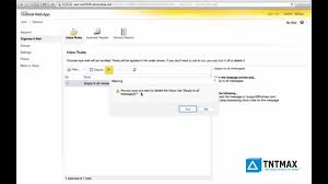 outlook web app settting up email