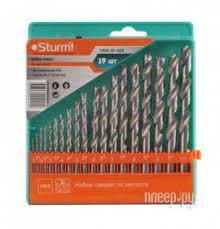 Купить <b>Набор сверл Sturm</b>! 1055-01-SS2 по металлу 19шт по ...