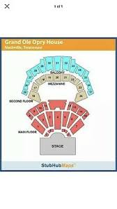 Grand Ole Opry Seating Chart Nashville Tn Grand Ole Opry Seat Cushion Ralph Emery Wsm 650 Radio
