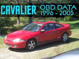 CAVALIER OBD DATA 1996 - 2005 - YouTube