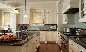 ivory kitchen cabinets. Ivory KItchen Cabinets With Black Countertops Kitchen T