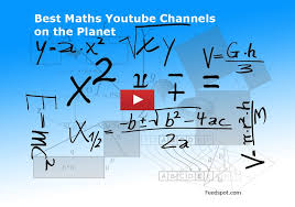the best maths you channels selected from thousands of maths channels on you and ranked based on its subscribers and popularity