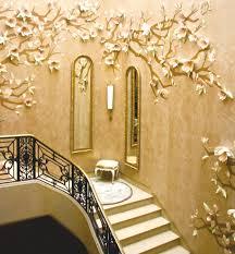 Wall Decoration Design Furnitures Beautiful Style Gold Wall Decoration Idea Gold Wall 47
