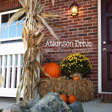 Outdoor Decorating For Fall Outdoor Fall Decor Fall Decor Decorating And Decoration