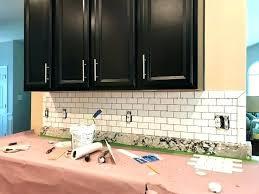 tile backsplash installation cost kitchen
