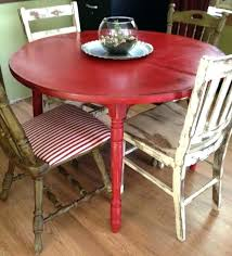 painted round kitchen table painted round kitchen table round kitchen table makeover it looks very pretty painted round kitchen table