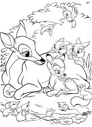 Disegni Di Bambi Da Colorare