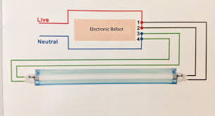 f96t12 electronic ballast wiring diagram fluorescent light wiring diagram for fluorescent light fixture at Wiring Diagram For Fluorescent Lights