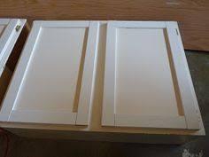 how to make shaker cabinet doors.  How Tutorial On How To Make Shakerpanel Cabinet Doors From Flat Ones And How To Make Shaker Cabinet Doors A