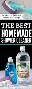 give this homemade shower cleaner a try