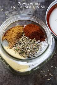 homemade fajitas seasoning mix