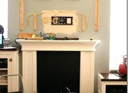 fake fireplace mantel building the fake fireplace mantel fake fireplace mantel diy