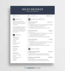 Aside from that, you may also download our administration resume template samples for. Free Cv Template For Word Free Download Career Reload