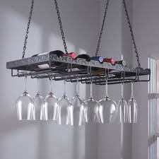 image of metal wine glass hanger