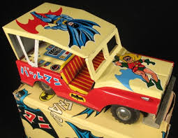 Batman vintage tin toy 1960 s
