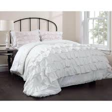 large size of white ruffle pintuck comforter with white throw pillows fluffy white duvet covers