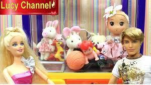 Đồ chơi Lucy Winx Club Phù thủy Icy Búp bê Barbie & Ken cứu Búp bê chibi  khỏi máy gắp đồ chơi Toy - YouTube