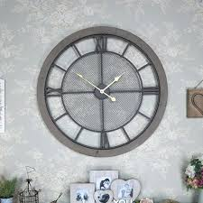 large wall clocks extra large rustic wall clock extra large wall clocks