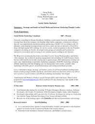 Social Media Resume Template Social Media Resume Template Job And Resume Template 10