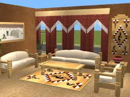 Southwestern Living Room Design Ideas Southwestern Living Room