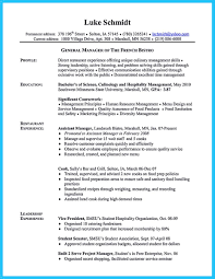 Cool Excellent Culinary Resume Samples To Help You Approved ...