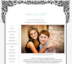 Creating Your Very Own Wedding Website Wedding Website Ideas