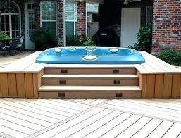 Hot Tub Backyard Ideas Plans Unique Inspiration Design