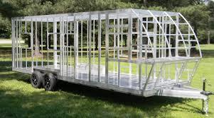 all aluminum rv welded frame