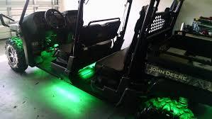 John Deere Gator Led Lights John Deere Gator Green Led Underbody Lighting And Custom
