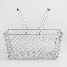 decorative wire basket  world market