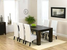 faux leather dining room chairs white leather dining room chairs design inspiration photos on white faux