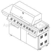 kenmore 141 16691 parts bbqs and gas