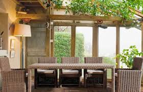 modern patio and furniture medium size resin outdoor dining sets natural wicker vs synthetic natural
