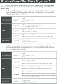 Casue And Effect How To Write A Cause And Effect Essay Examples At Kingessays