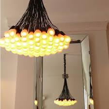 chandelier 85 lamps modern chandelier by droog