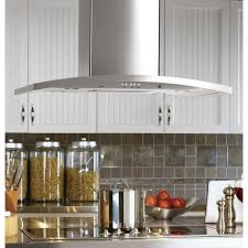 Range Hood Kitchen Ge Profile 36 In Designer Range Hood In Stainless Steel Pv977nss
