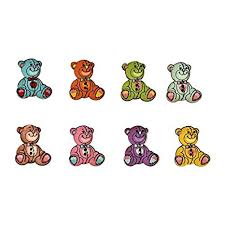 """JO's 10pcs """"<b>Big Cute Bear</b> – Teddy <b>Bear</b>"""" (30*<b>25cm</b>) Craft wooden ..."""