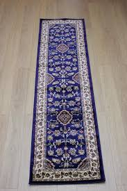 picture of sincerity sherbourne navy blue oriental runner rug