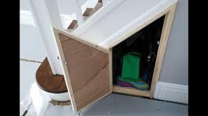 building an under stairs cupboard door