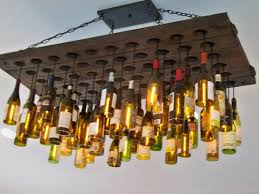 make your own pendant light amazing kitchen unique ceiling made from recicled wine bottles intended for 28