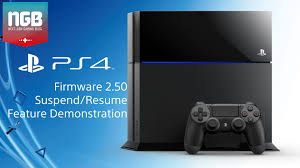 PS4 Suspend/Resume feature demonstration - Firmware 2.50