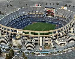 Qualcomm Stadium San Diego State Aztecs Seating Chart Qualcomm Stadium San Diego United States Of America
