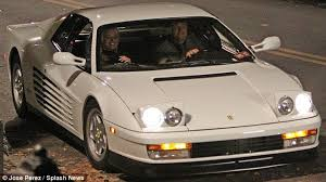 The wolf of wall street buff revised pages 3/5/13. White Hot Wheels Leonardo Dicaprio Takes Flashy Ferrari For A Spin During Late Night Filming The Wolf Of Wall Street Ferrari Leonardo Dicaprio Night Film
