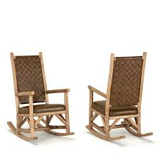 furniture rustic rocking chairs rustic outdoor rocking chairs chair nursery pads cushions la lune collection