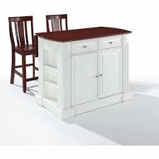 Kitchen Island Breakfast Bar Crosley Furniture Drop Leaf Breakfast Bar Top Kitchen Island